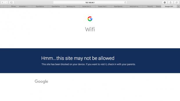 Google Wifi im Test: Google mischt mit im Mesh - Golem de
