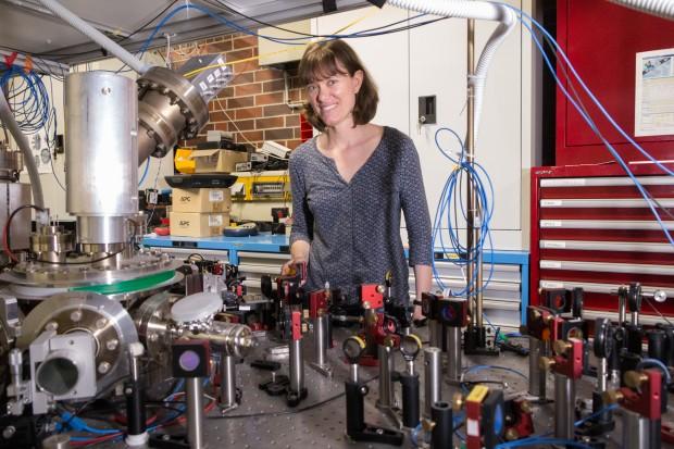 Die Physikerin Tracy Northup wird auf der Golem.de-Quantenkonferenz über ihre Forschung berichten. (Bild: Martin Wolf/Golem.de)
