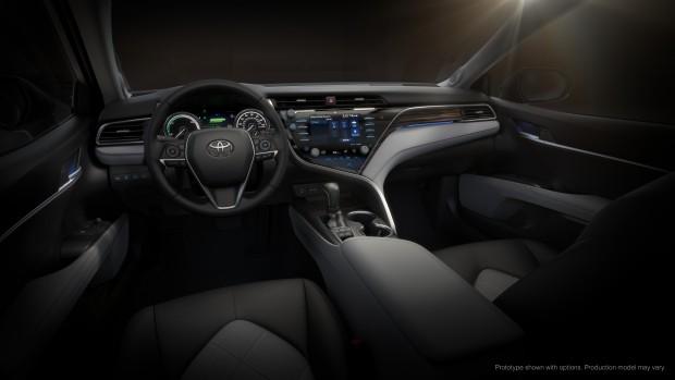 Das Infotainment-System des Toyota Camry 2018 basiert auf AGL. (Bild: Toyota)