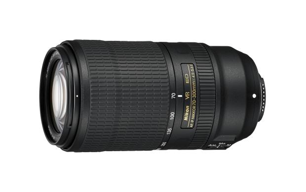 AF-P Nikkor 70-300 mm 1:4,5-5,6E ED VR (Bild: Nikon)