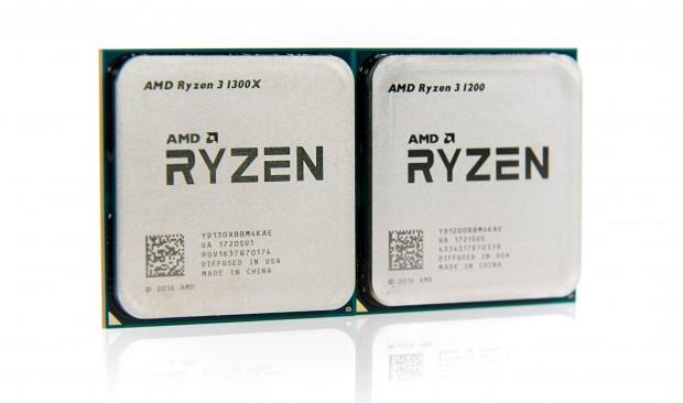 Ryzen 3 1300X und 1200 (Foto: Martin Wolf/Golem.de)