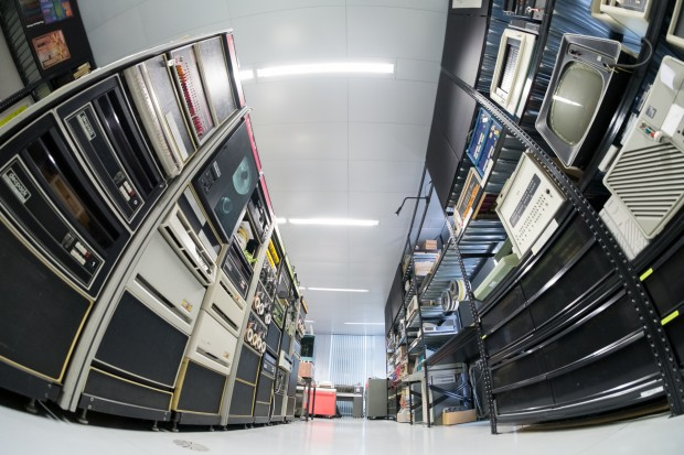 Die Sammlung besteht aus alten Computern öffentlicher Einrichtungen wie auch aus privaten Spenden. (Bild: Tobias Költzsch/Golem.de)