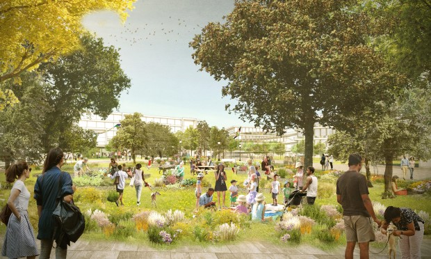 So stellt sich Facebook den neuen Willow Campus vor. (Bild: Facebook)
