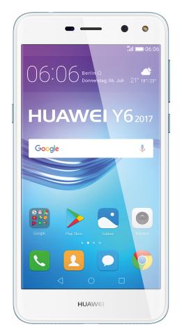 Das Y6 (2017) von Huawei (Bild: Huawei)