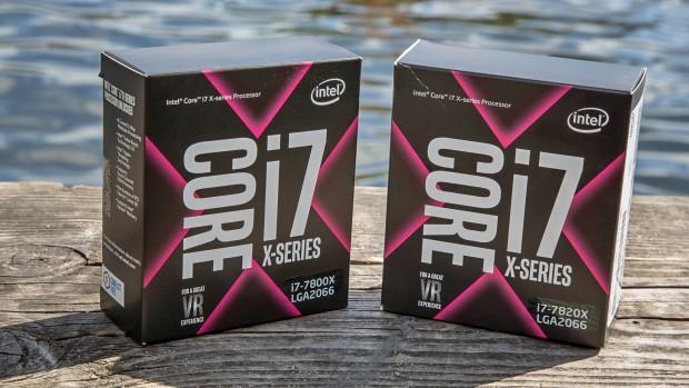 Core i7-7820X und Core i7-7800X (Foto: Martin Wolf/Golem.de)