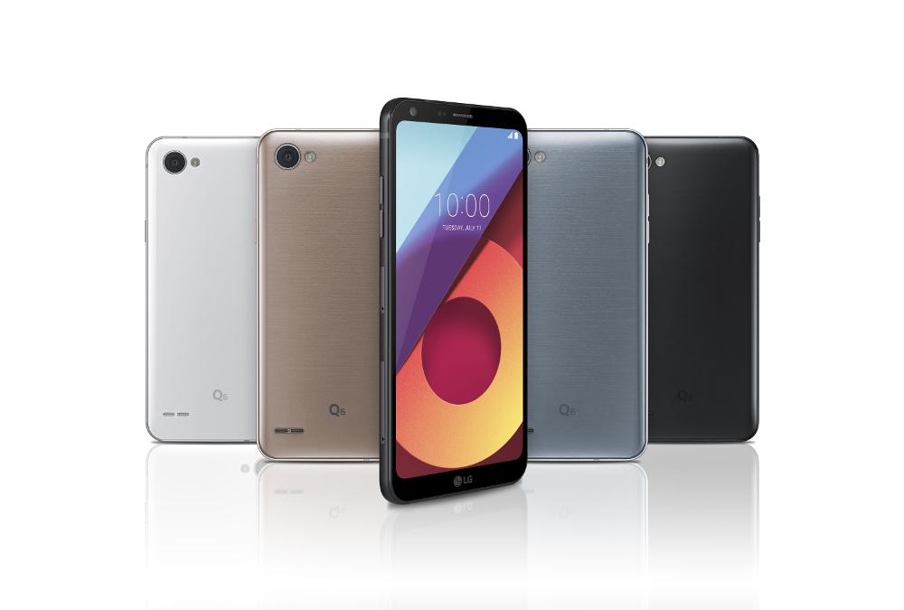 LG Q6: LG stellt G6-Alternative mit 18-zu-9-Display vor - Das Q6 von LG (Bild: LG)