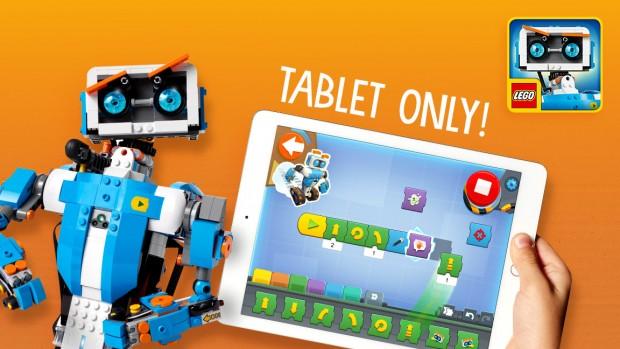 Die App funktioniert nur auf einem Tablet. (Bild: Lego)