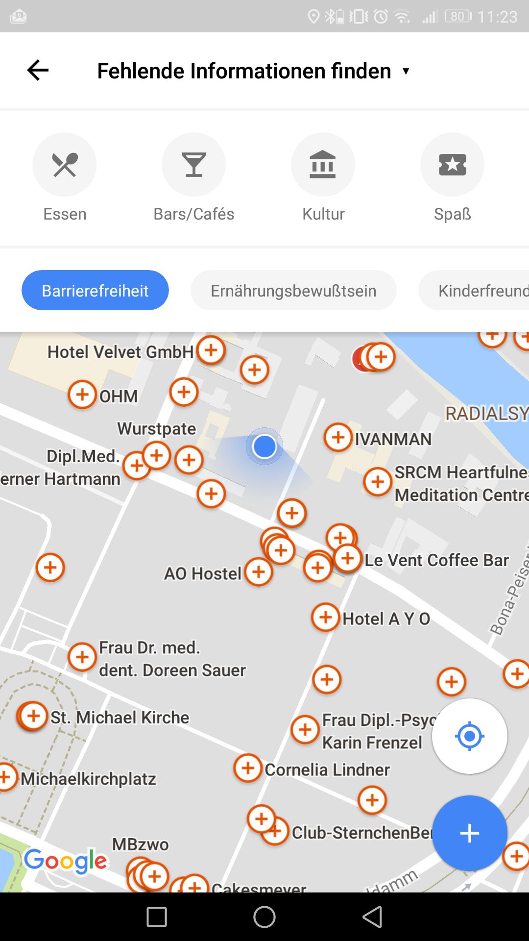 Google: Maps-Nutzer können einfacher Ortsinformationen hinzufügen -