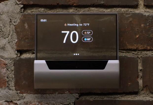 Das GLAS-Thermostat von Microsoft und Johnson Controls (Screenshot: Golem.de)