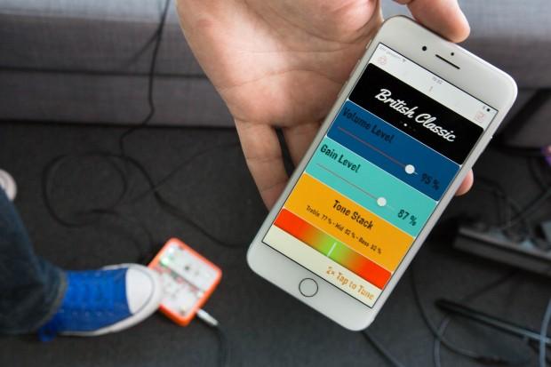Programmiert wird der Poets One per Bluetooth über eine App. (Bild: Martin Wolf/Golem.de)