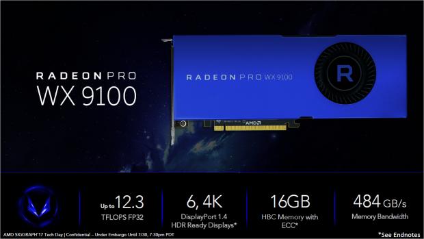 Radeon Pro WX 9100 (Bild: AMD)