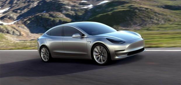 Tesla Model 3 (Bild: Tesla)