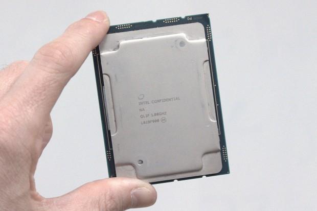 Xeon SP ohne Fabric (Foto: Marc Sauter/Golem.de)