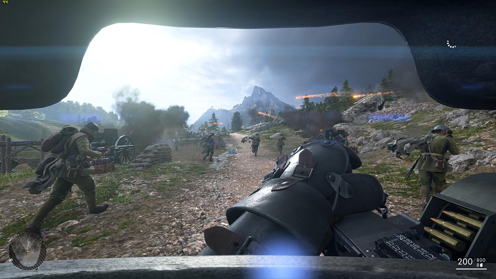 Radeon RX Vega 64 im Test: Schnell und durstig mit Potenzial - Benchmark-Szene von Battlefield  (Screenshot: Marc Sauter/Golem.de, Rechteinhaber: EA)