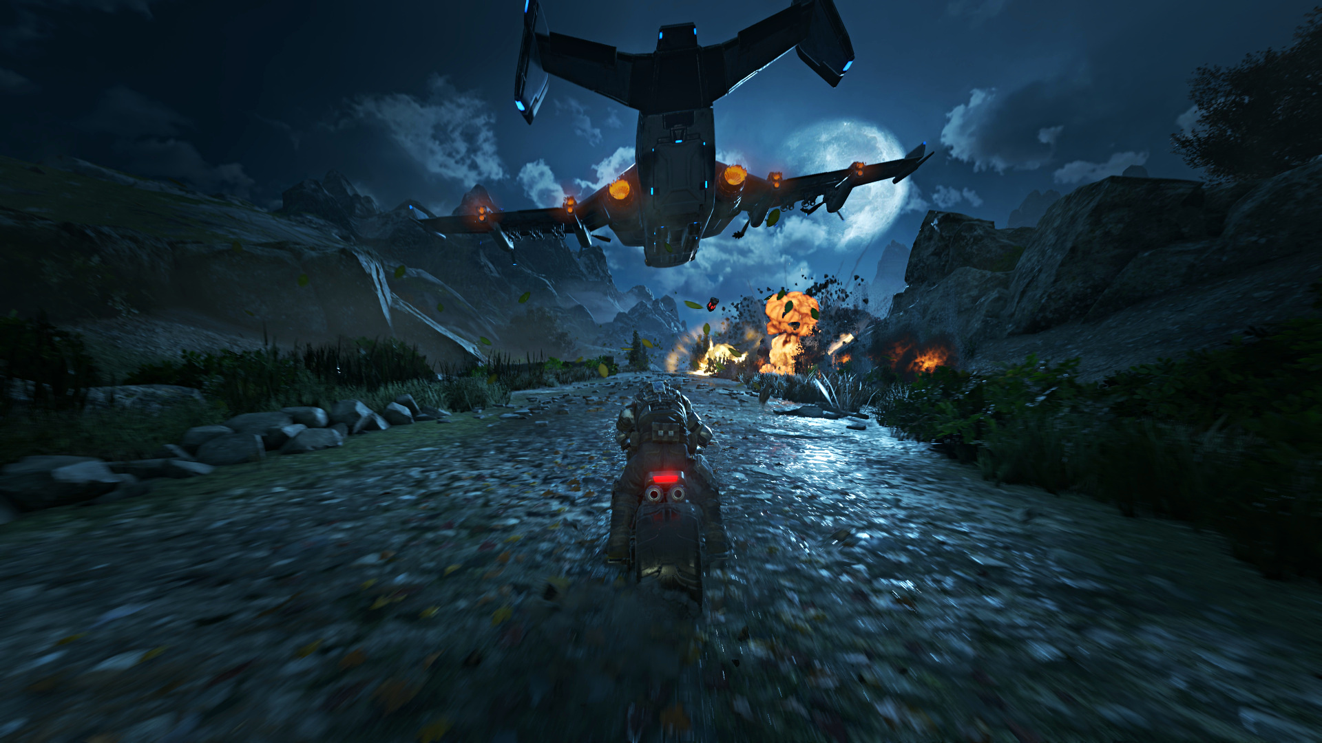 Radeon RX Vega 64 im Test: Schnell und durstig mit Potenzial - Benchmark-Szene von Gears of War 4 (Screenshot: Marc Sauter/Golem.de, Rechteinhaber: Microsoft)