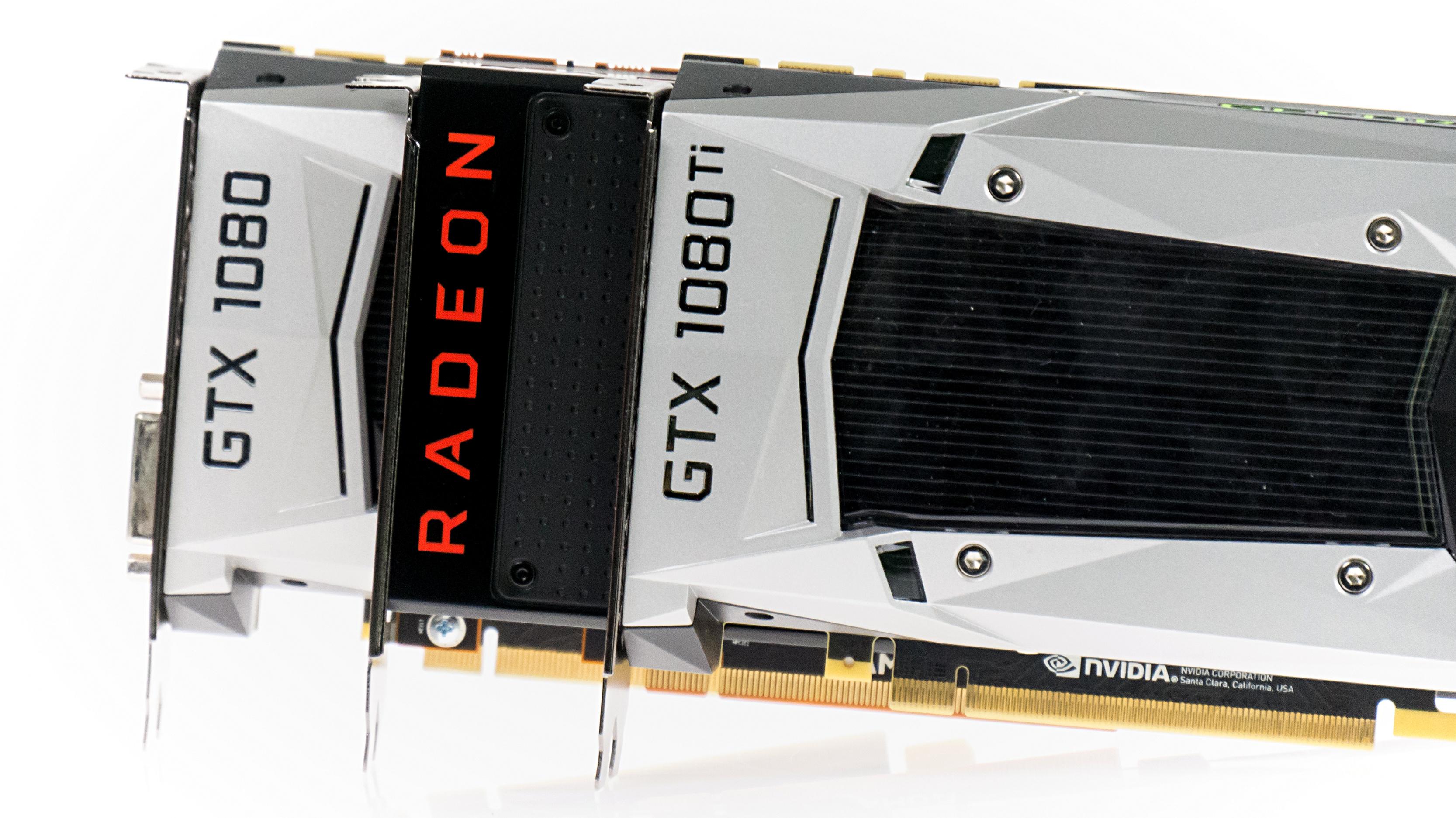 Radeon RX Vega 64 im Test: Schnell und durstig mit Potenzial - Die Vega 64 positioniert sich zwischen der Geforce GTX 1080 und der Ti-Version. (Foto: Marc Sauter/Golem.de)