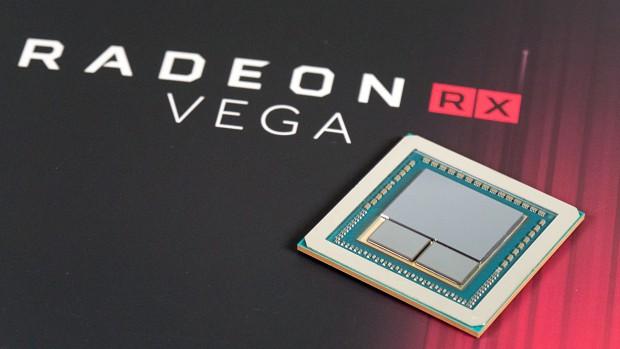 Vega 10 nutzt zwei HBM2-Stacks. (Foto: Marc Sauter/Golem.de)
