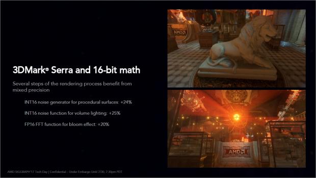 Mit FP16 können etwa Bloom-Shader beschleunigt werden. (Bild: AMD)
