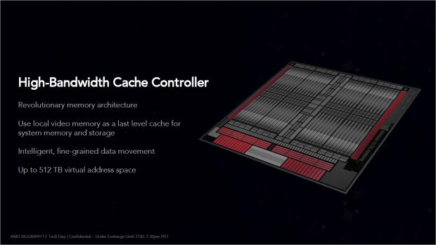 Vega weist einen High Bandwidth Cache Controller auf. (Bild: AMD)