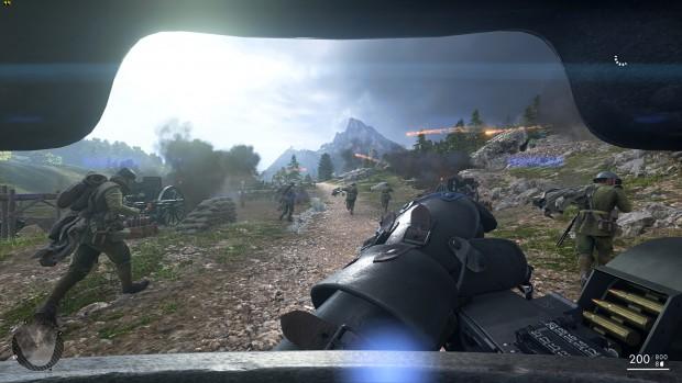 Benchmark-Szene von Battlefield  (Screenshot: Marc Sauter/Golem.de, Rechteinhaber: EA)