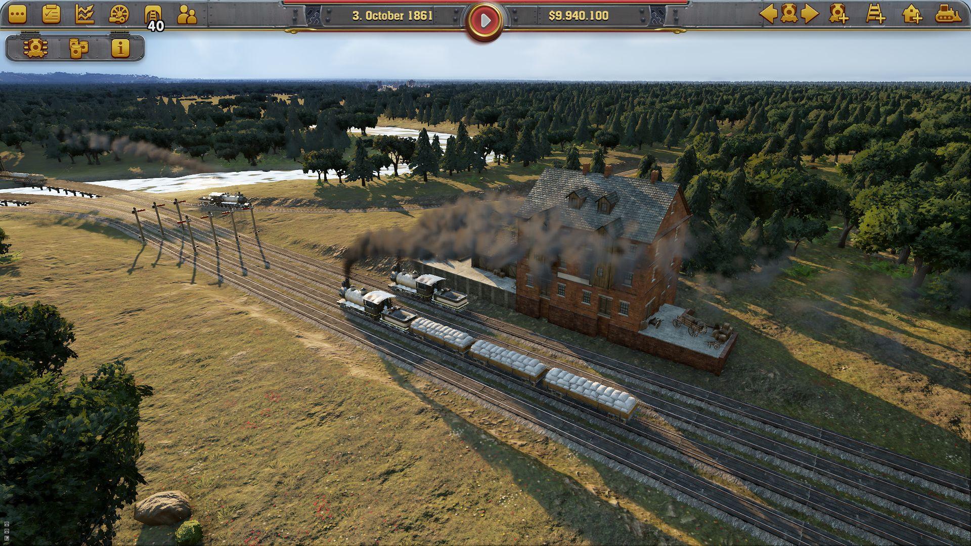 Wirtschaftssimulation: Aufbau-Alternativen zu Anno 1800 - Railway Empire (Bild: Kalypso Media)