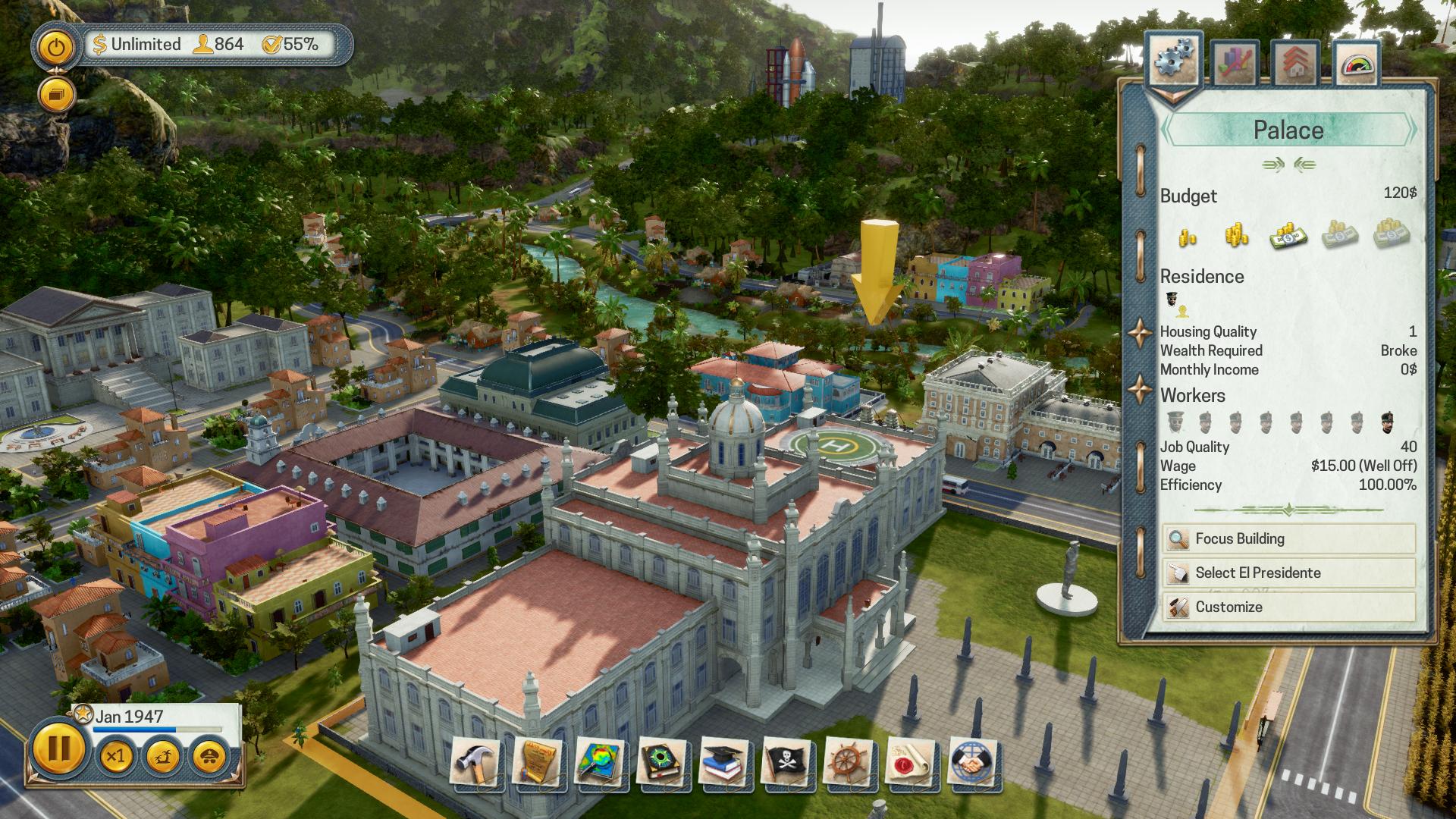 Wirtschaftssimulation: Aufbau-Alternativen zu Anno 1800 - Tropico 6 (Bild: Kalypso Media)