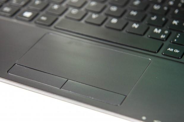 Das Touchpad ist etwas klein. (Bild: Martin Wolf/Golem.de)