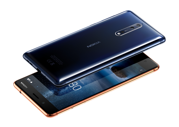 Nokia 8 (Bild: HMD Global)