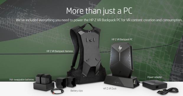 Der HP Z VR kommt mit viel Zubehör.  (Bild: HP)