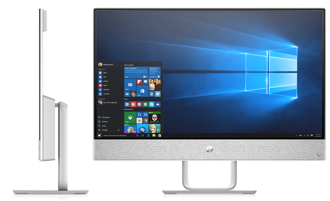 HP Pavilion: Neue All-in-Ones erinnern an Surface-Geräte -
