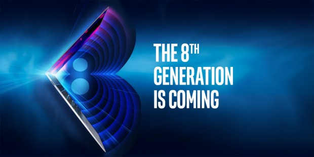 Die 8th Gen ist für Notebooks gedacht. (Bild: Intel)