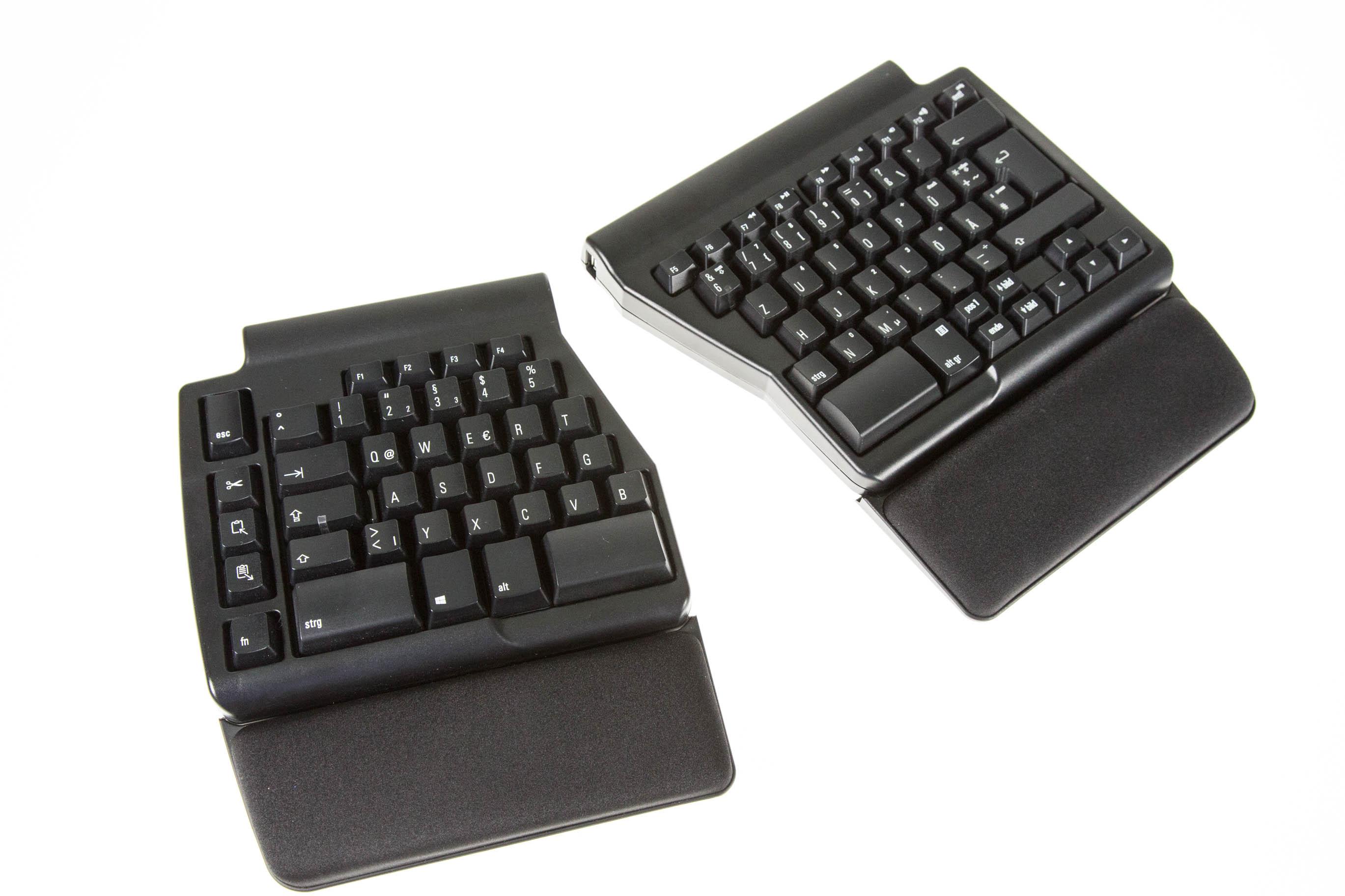 Matias Ergo Pro Keyboard im Test: Die Exzentrische unter den Tastaturen -