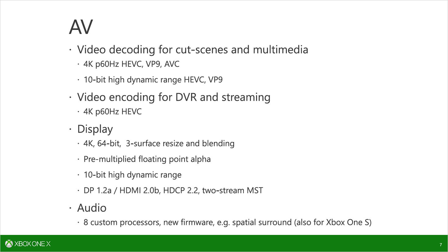 Scorpio Engine: Microsoft erläutert SoC der Xbox One X -