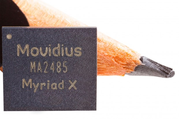 Movidius Myriad X (Bild: Intel)