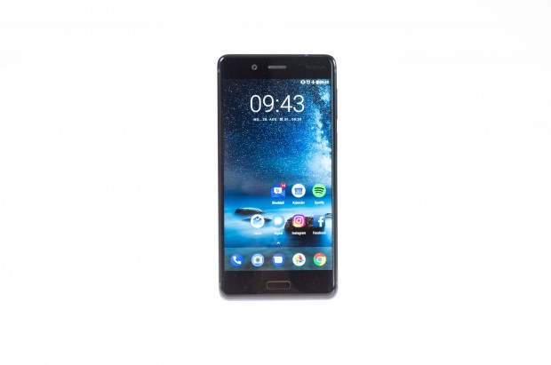 Das neue Nokia 8 von HMD Global (Bild: Martin Wolf/Golem.de)