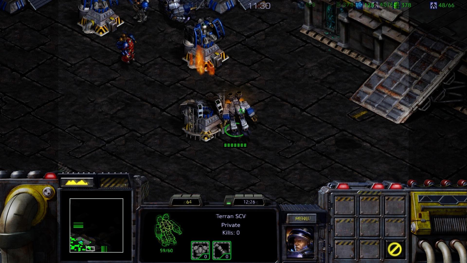 Starcraft Remastered im Test: Klick, klick, klick, klick, klick als wär es 1998 - Starcraft Remastered (Screenshot: Michael Wieczorek/Golem.de)