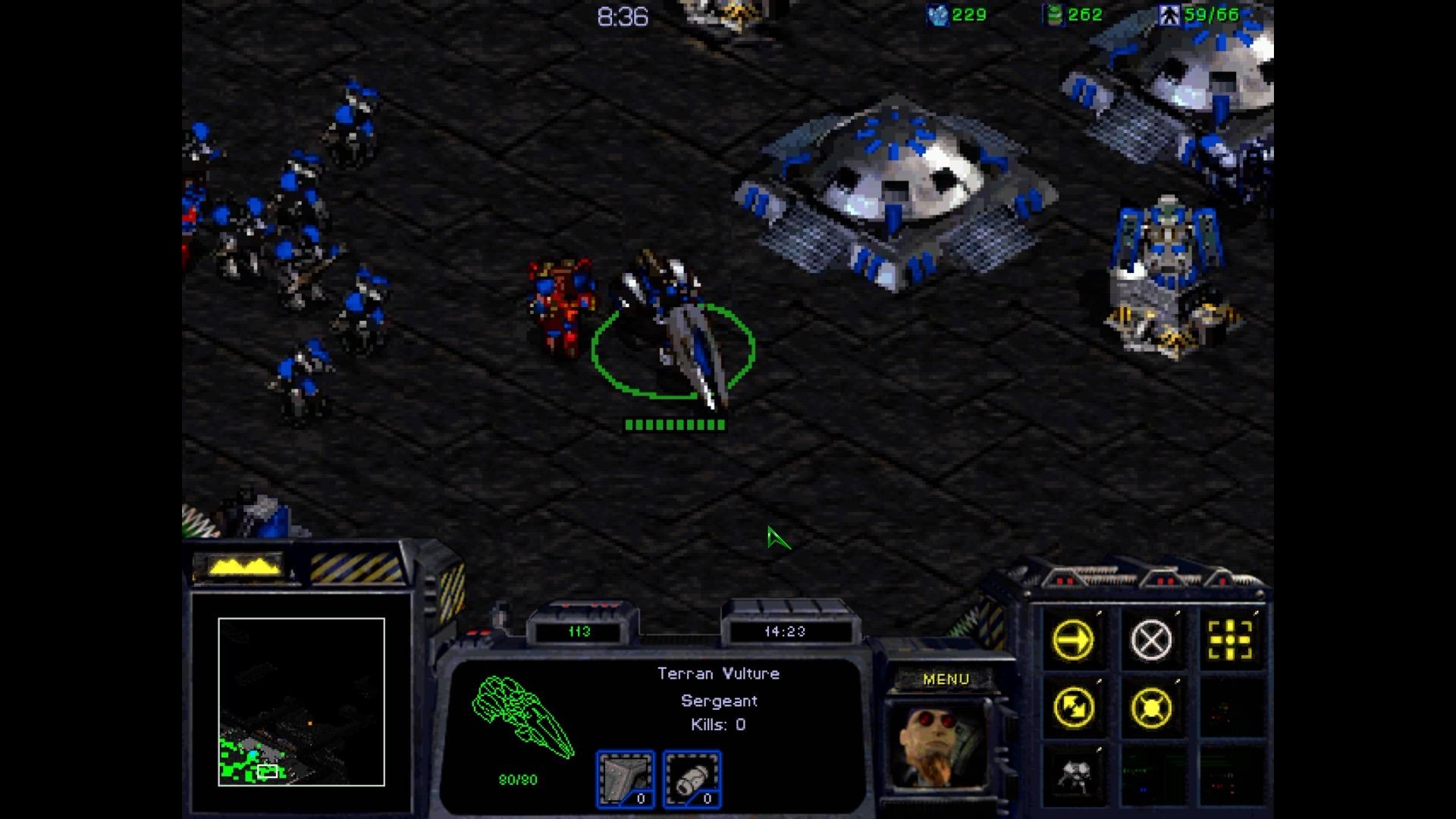 Starcraft Remastered im Test: Klick, klick, klick, klick, klick als wär es 1998 - Starcraft (Screenshot: Michael Wieczorek/Golem.de)