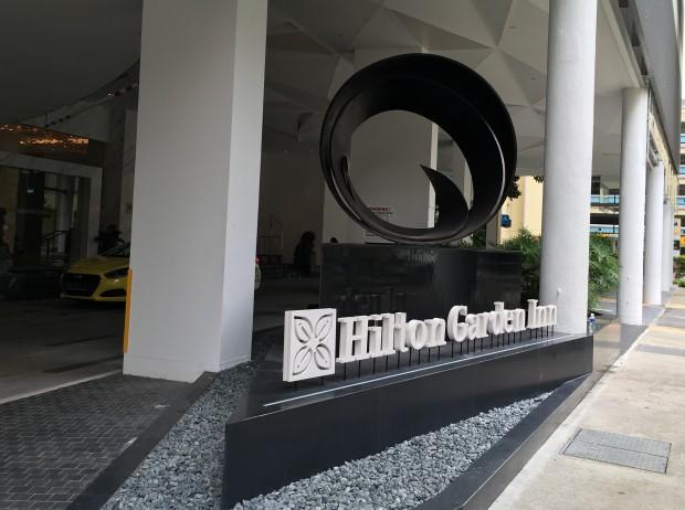 Bei unserem Besuch des Hilton Garden Inn ... (Foto: Andreas Sebayang/Golem.de)