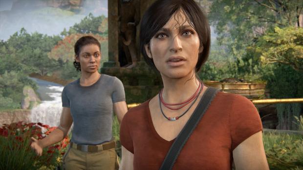 Nadine und Chloe erleben zusammen ein Abenteuer. (Bild: Sony/Screenshot: Golem.de)