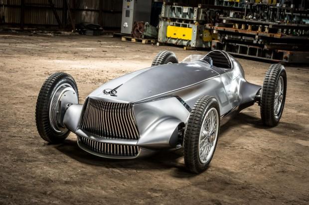 Das Elektroauto Prototype 9... (Foto: Infiniti)