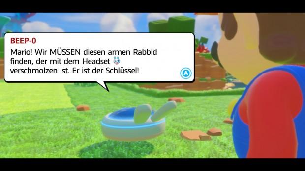 Der Hase mit dem Headset ist das Ziel. (Ubisoft/Screenshot: Golem.de)