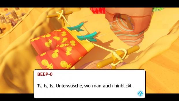 Unterhose in der Wüste (Ubisoft/Screenshot: Golem.de)