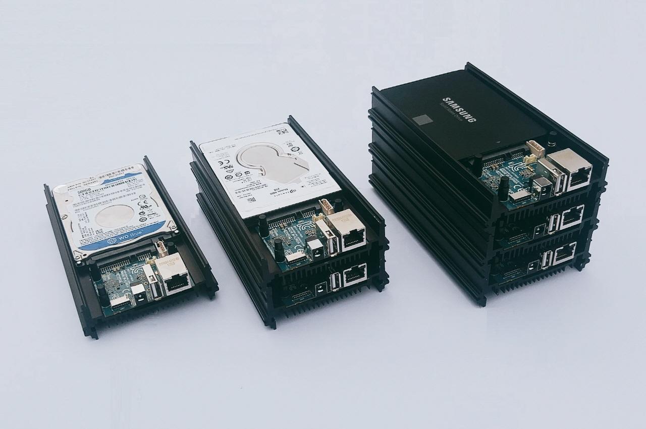 Odroid HC-1: Bastelrechner besser stapeln im NAS - Odroid HC1 (Bild: Hardkernel)