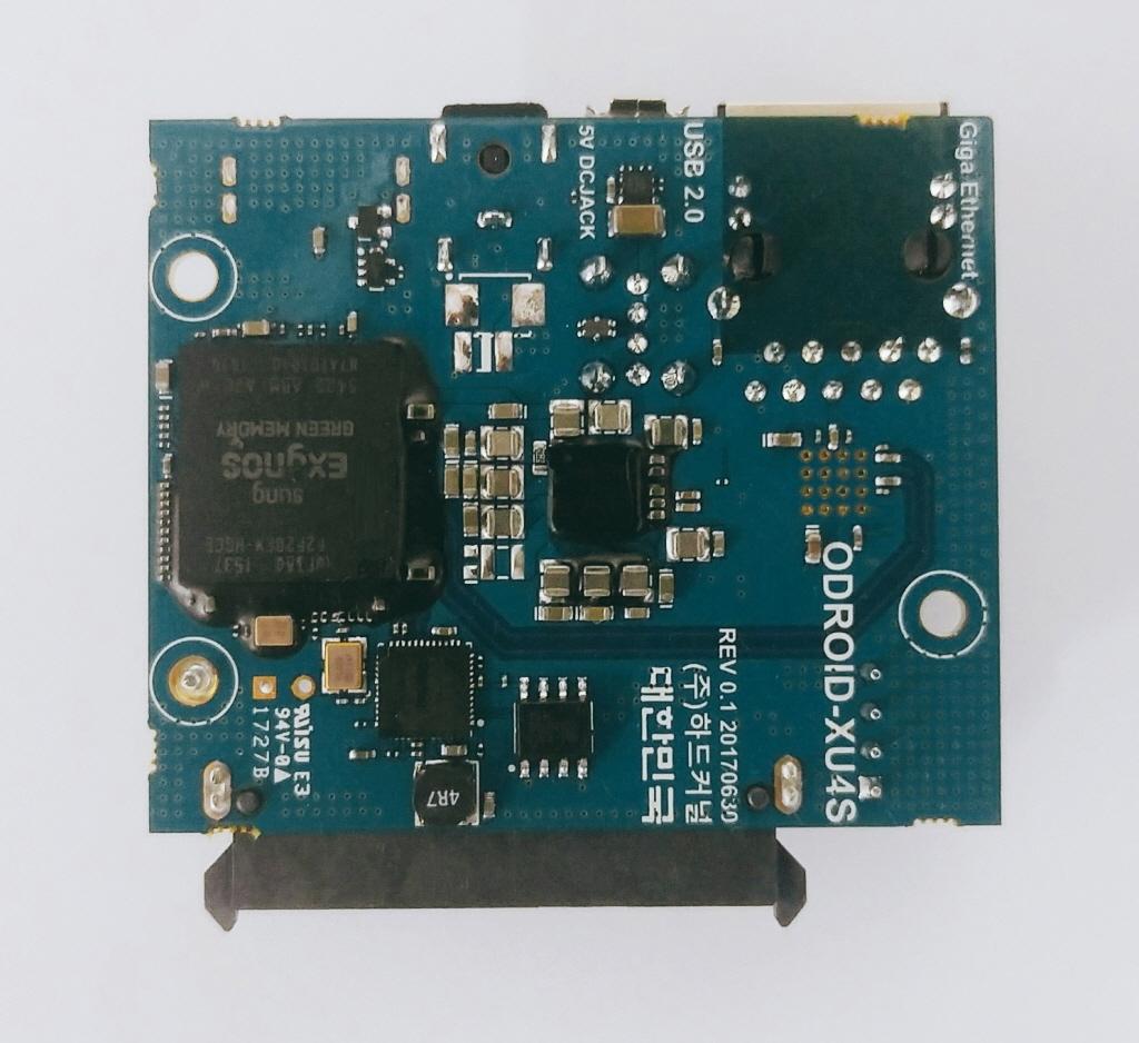 Odroid HC-1: Bastelrechner besser stapeln im NAS - Odroid HC1 Unterseite (Bild: Hardkernel)