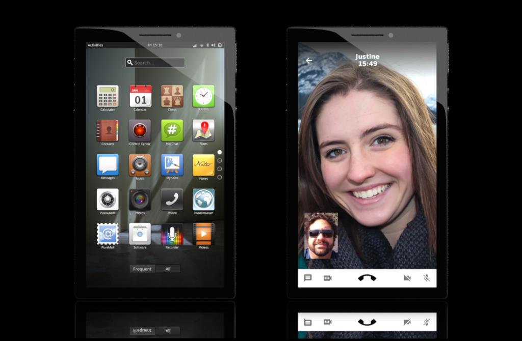 Librem 5: Das freie Linux-Smartphone ist finanziert - Das Librem 5 soll mit Linux laufen. (Bild: Purism)