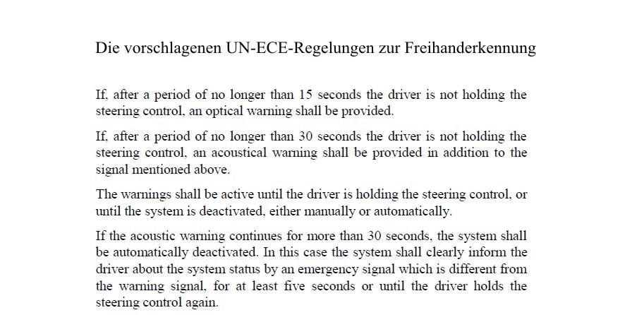 Mercedes S-Klasse im Test: Das selbstfahrende Auto ist schon sehr nahe - Die Freihanderkennung verlangt nach 15 Sekunden einen Griff ans Lenkrad.