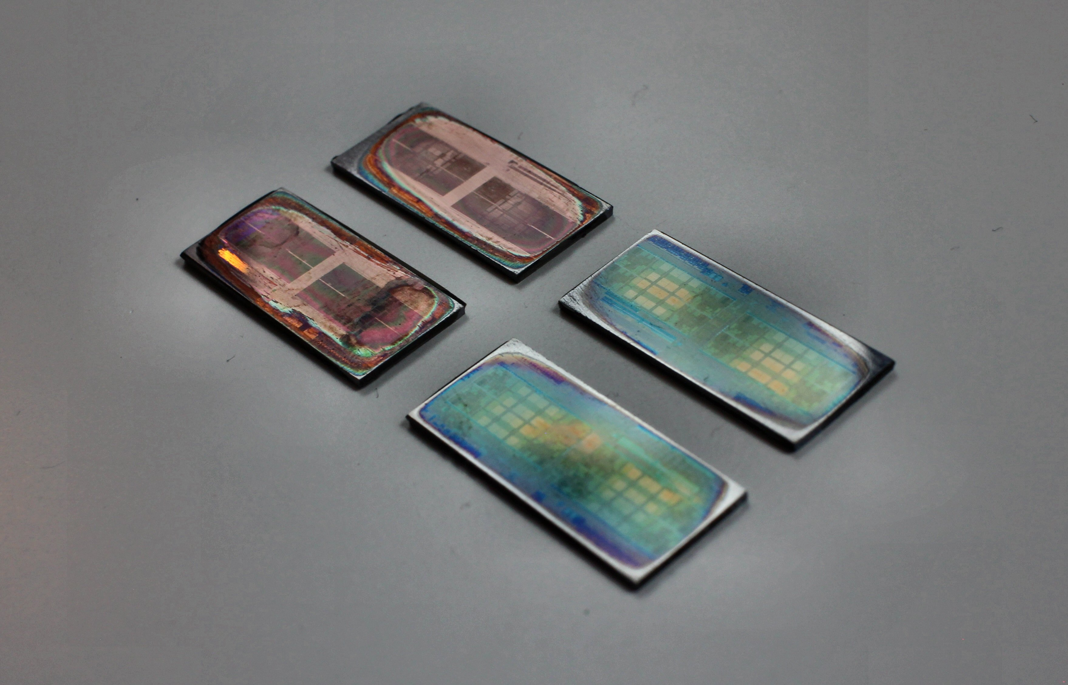 AMD: Threadripper nutzt vier belichtete Dies - Vier Zeppelin-Dies (Foto: Roman '8auer' Hartung)