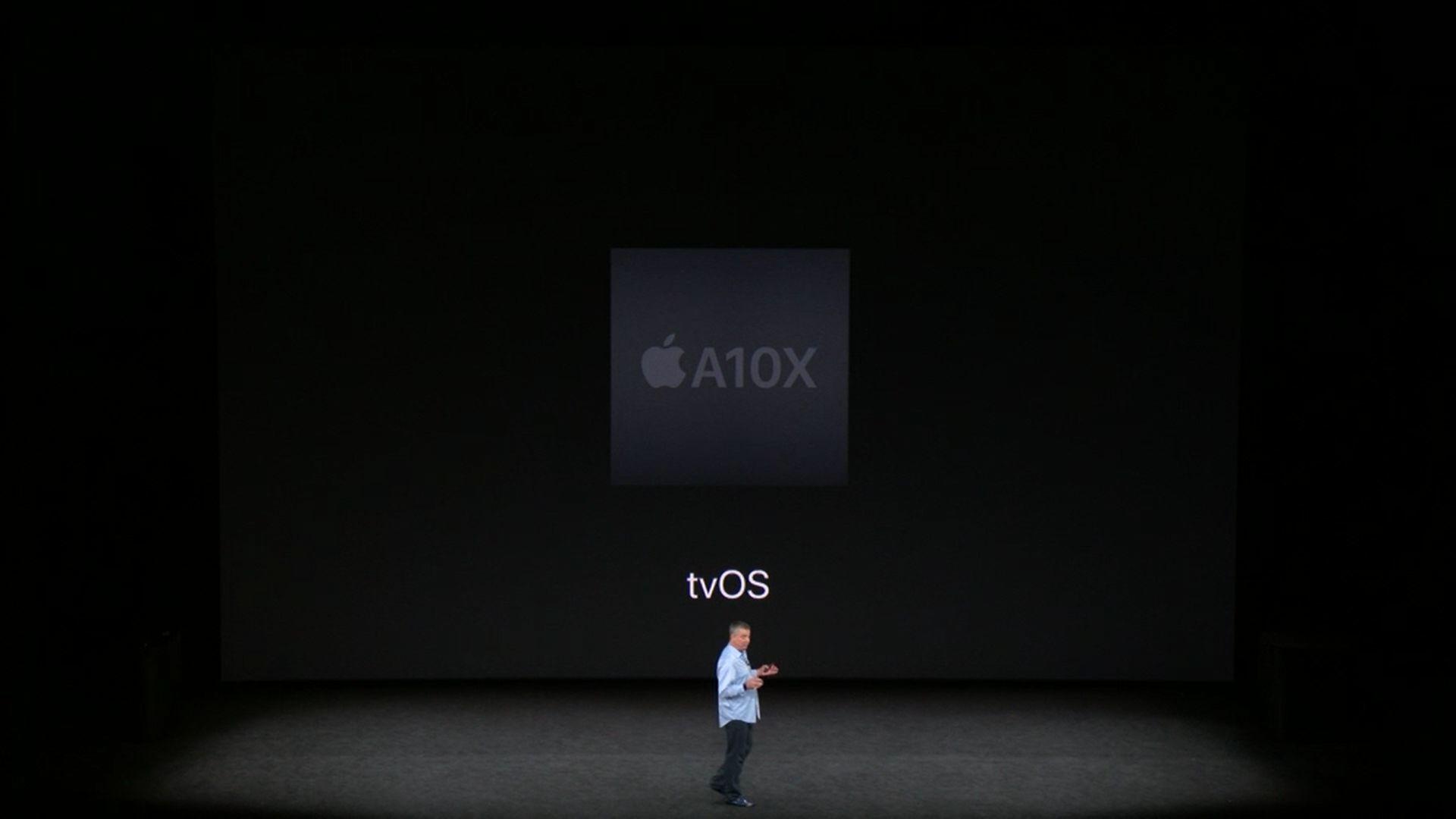Streaming: Apple TV mit 4K- und HDR-Unterstützung vorgestellt - Apple TV 4K (Bild: Apple/Screenshot: Golem.de)