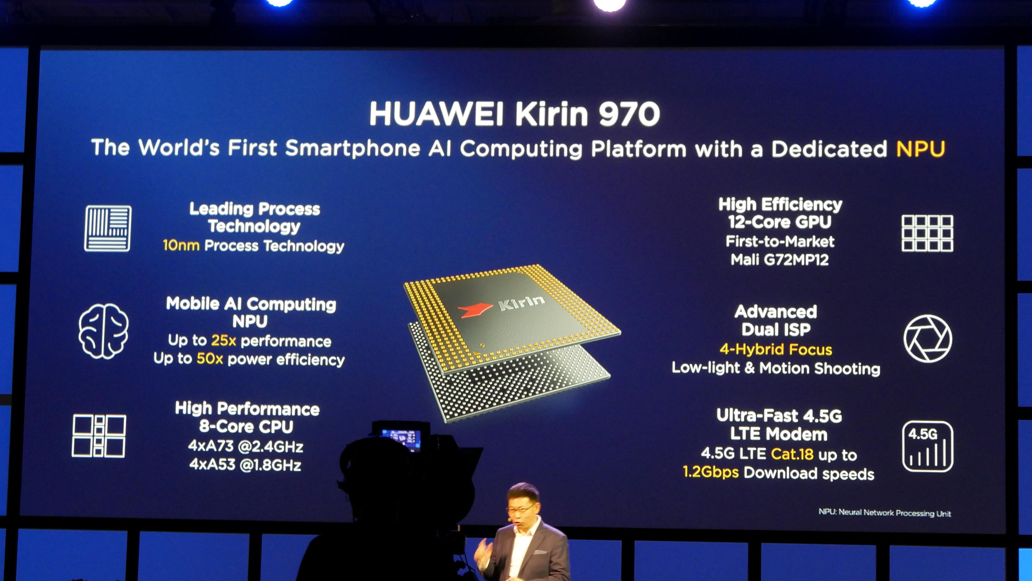 Kirin 970: Huawei-Chip hat AI-Hardware und schnellstes LTE - Detailliertere Informationen (Foto: Marc Sauter/Golem.de)