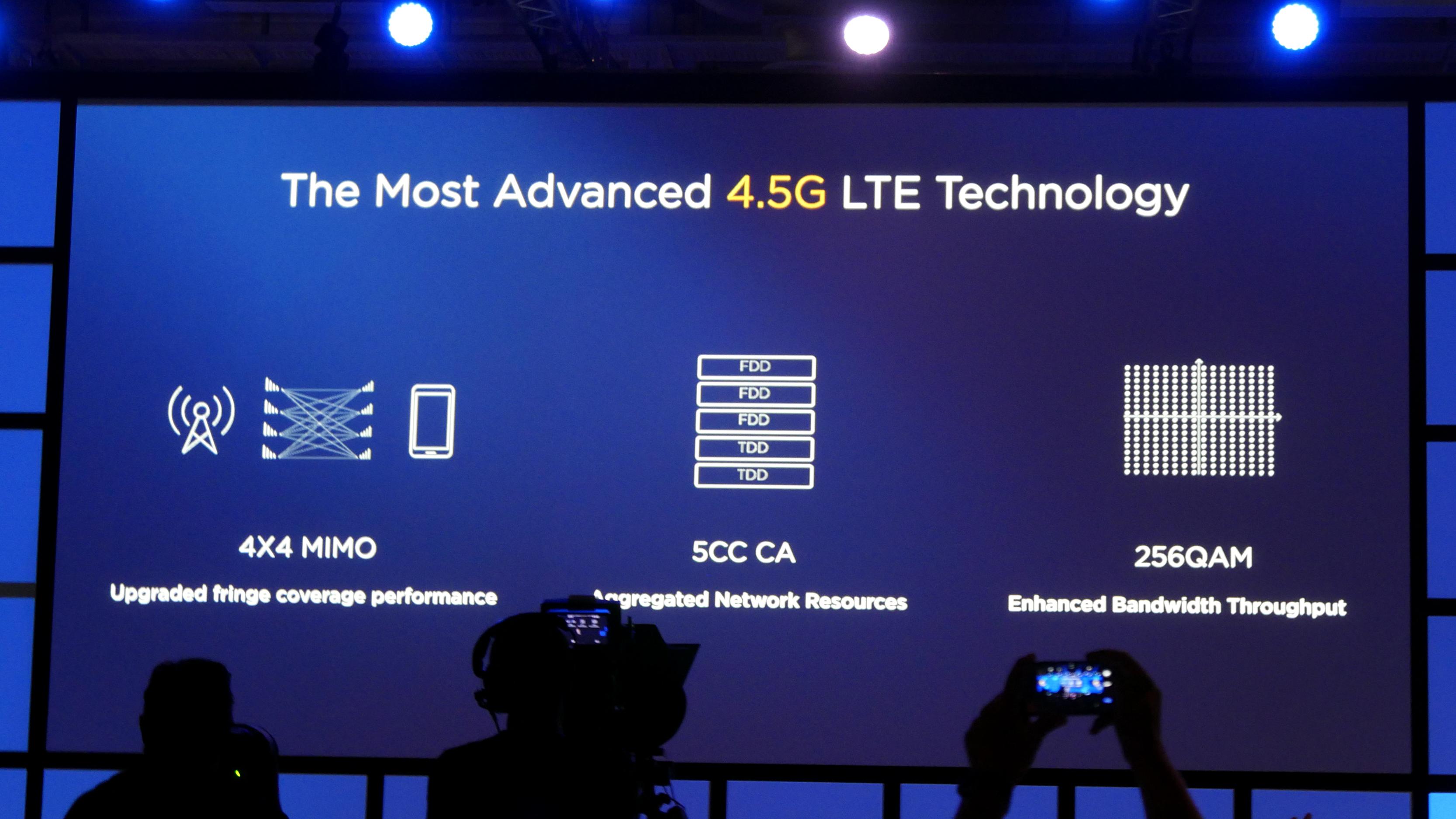 Kirin 970: Huawei-Chip hat AI-Hardware und schnellstes LTE - Huawei hat das derzeit schnellste LTE-Modem. (Foto: Marc Sauter/Golem.de)